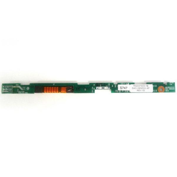 11.Invertor laptop display  FUJITSU AMILO PI3540 76G031033-1B   DAC-08N033 299531070J